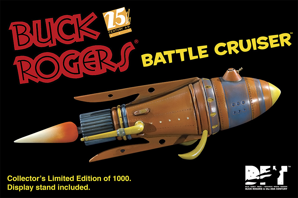 Buck Rogers Battle Cruiser